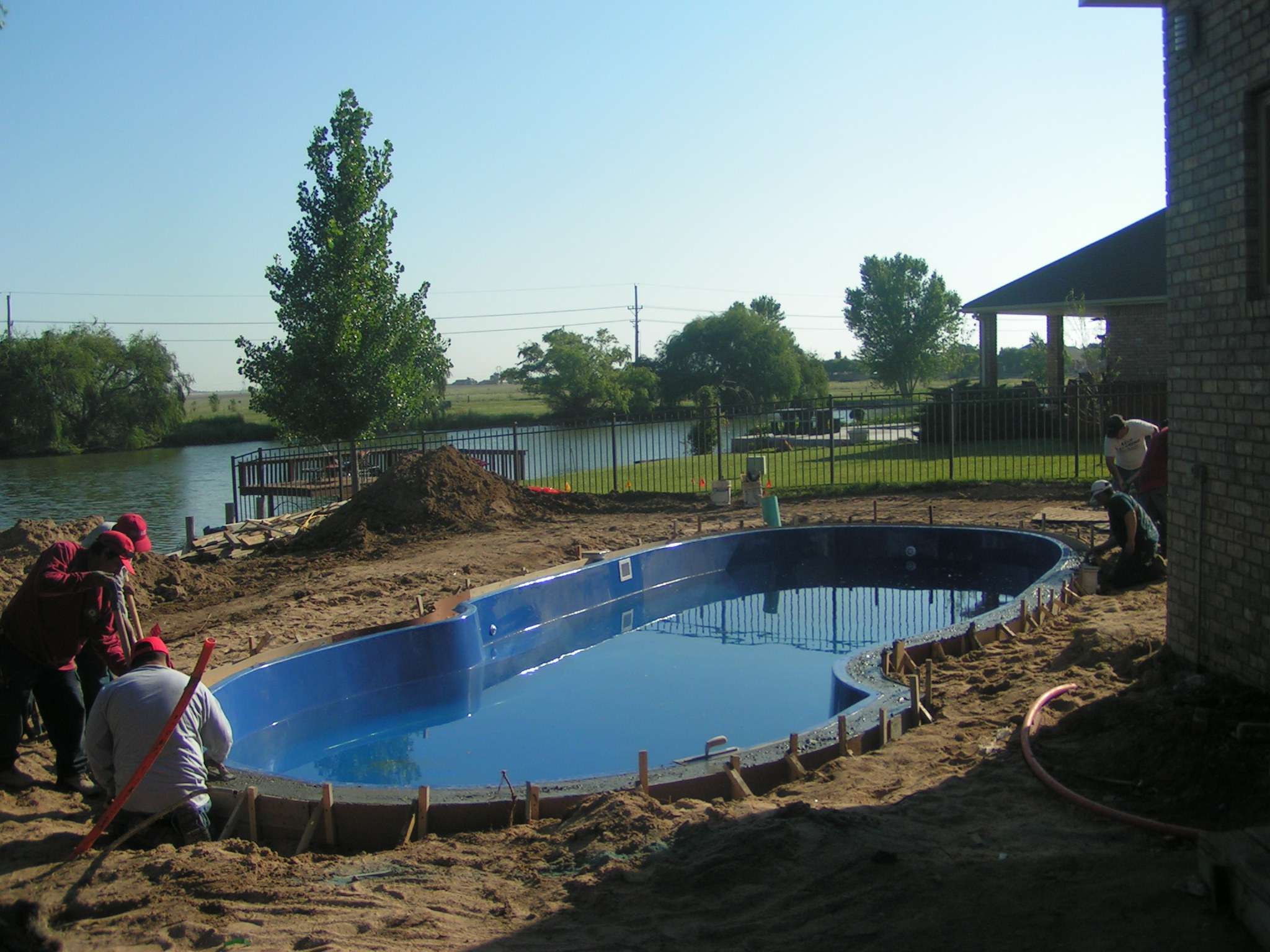 Inground swimming pool capital development llc dodge for Swimming pool dealers